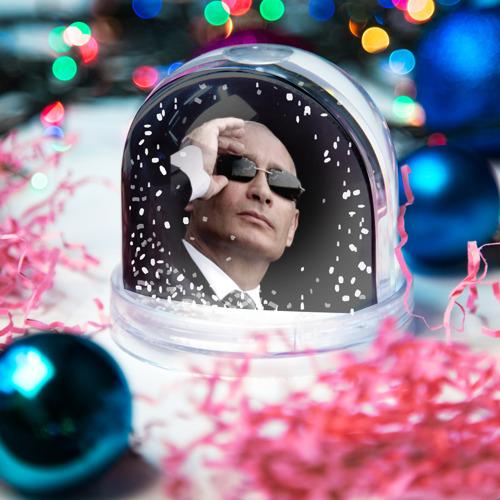 Водяной шар со снегом  Фото 03, Путин Владимир