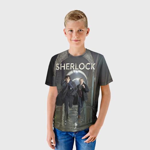 Детская футболка 3D Sherlock Фото 01