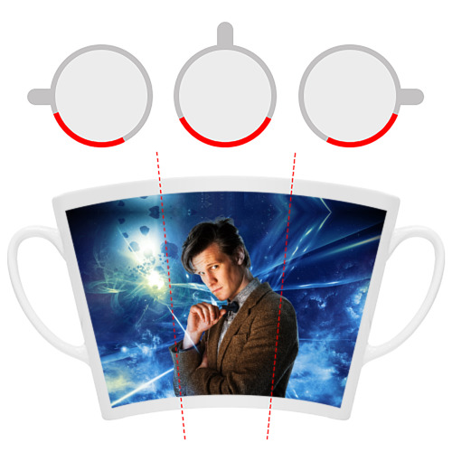 Кружка Латте  Фото 06, 11th Doctor Who