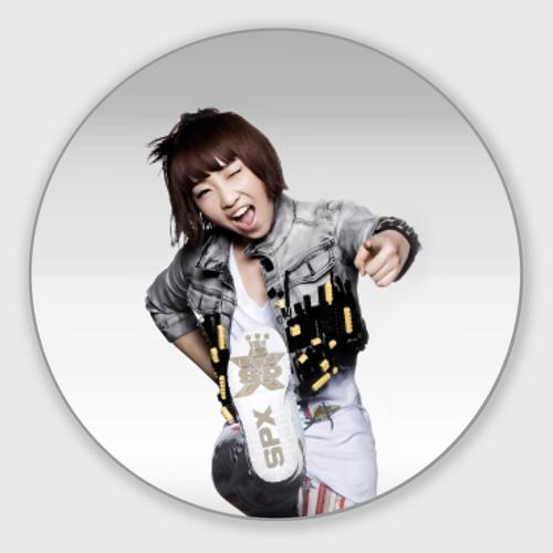 Коврик для мышки круглый  Фото 01, K pop девушка