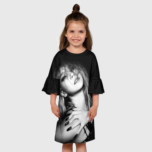 Детское платье 3D  Фото 01, K-pop девушка
