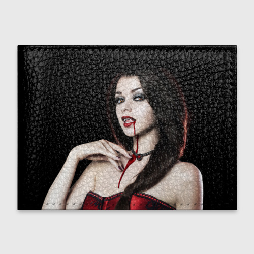 Девушка вампир