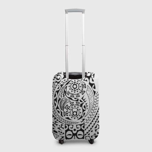 Чехол для чемодана 3D  Фото 02, Узор на белом