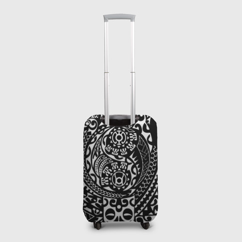 Чехол для чемодана 3D  Фото 02, Узор на черном