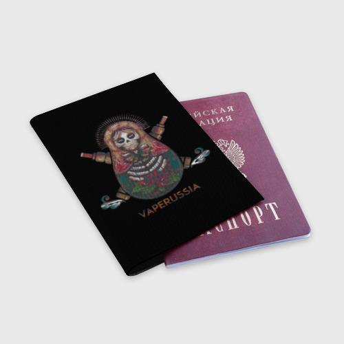 Обложка для паспорта матовая кожа  Фото 03, Vape