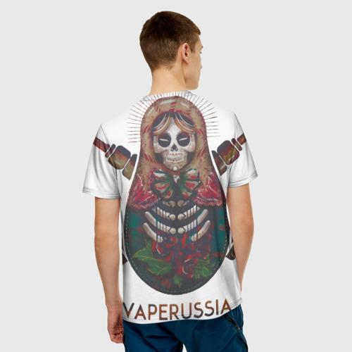 Мужская футболка 3D Vape