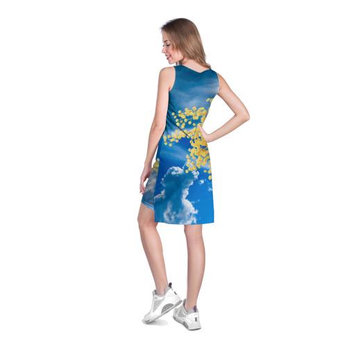 Платье-майка 3D  Фото 04, Мимозы