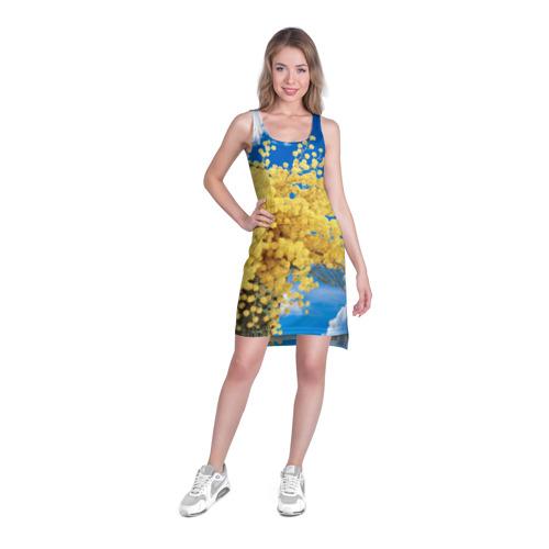 Платье-майка 3D  Фото 03, Мимозы