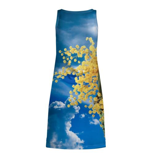 Платье-майка 3D  Фото 02, Мимозы