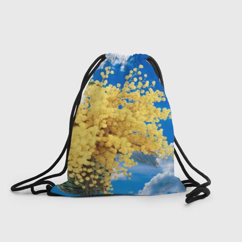 Рюкзак-мешок 3D  Фото 01, Мимозы