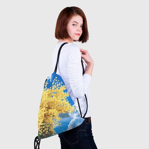 Рюкзак-мешок 3D  Фото 02, Мимозы
