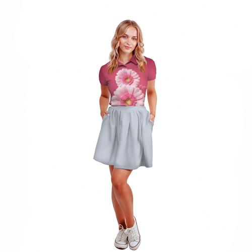 Женская рубашка поло 3D  Фото 04, Гарберы