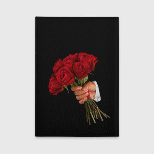 Обложка для автодокументов  Фото 02, Розы за спиной