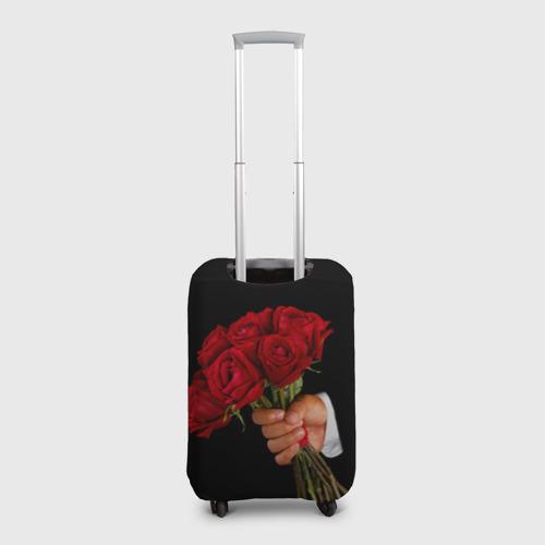 Чехол для чемодана 3D  Фото 02, Розы за спиной