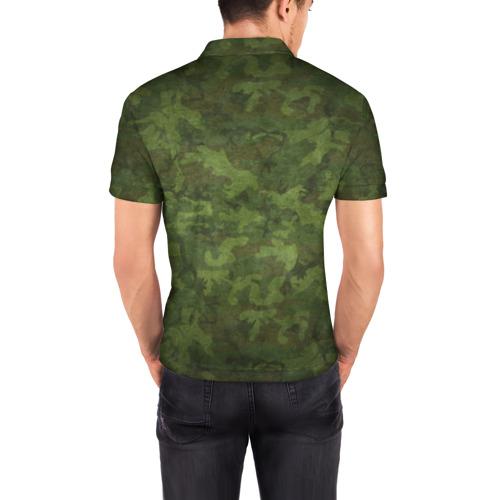 Мужская рубашка поло 3D Главнокомандующий ДЕД