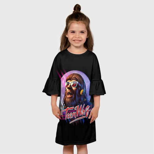 Детское платье 3D  Фото 01, Teen wolf 4
