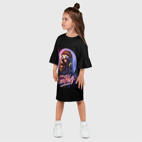 Детское платье 3D  Фото 03, Teen wolf 4