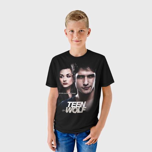 Детская футболка 3D Teen wolf 6