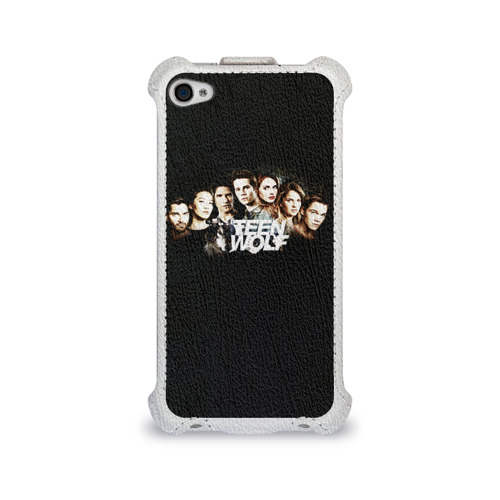 Чехол для Apple iPhone 4/4S flip Teen wolf 8