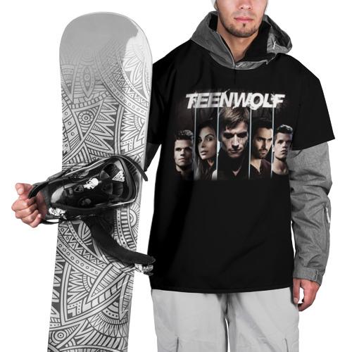 Накидка на куртку 3D  Фото 01, Teen wolf 9
