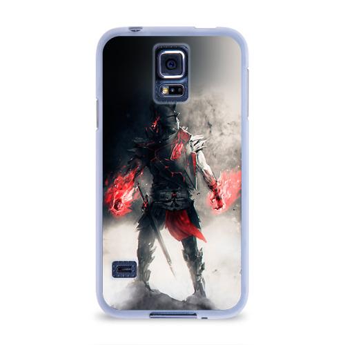 Чехол для Samsung Galaxy S5 силиконовый  Фото 01, Воин