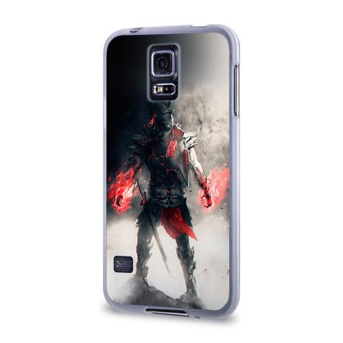 Чехол для Samsung Galaxy S5 силиконовый  Фото 03, Воин
