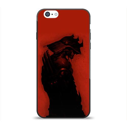Чехол для Apple iPhone 6 силиконовый глянцевый  Фото 01, Самурай