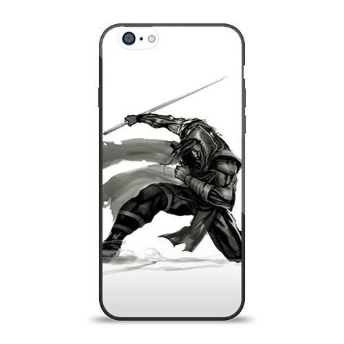 Чехол для Apple iPhone 6 силиконовый глянцевый  Фото 01, Ниндзя