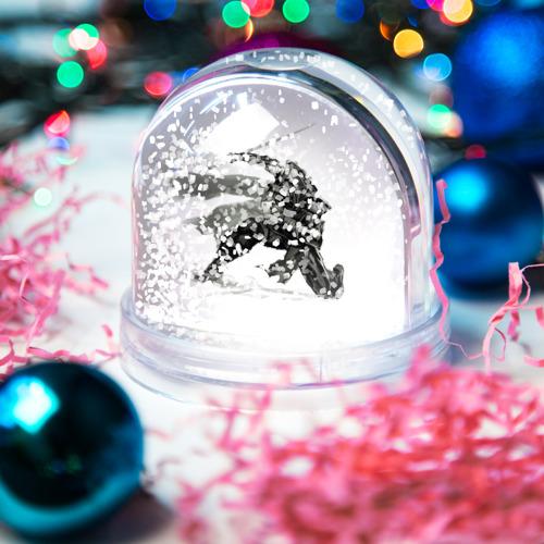 Водяной шар со снегом  Фото 04, Ниндзя