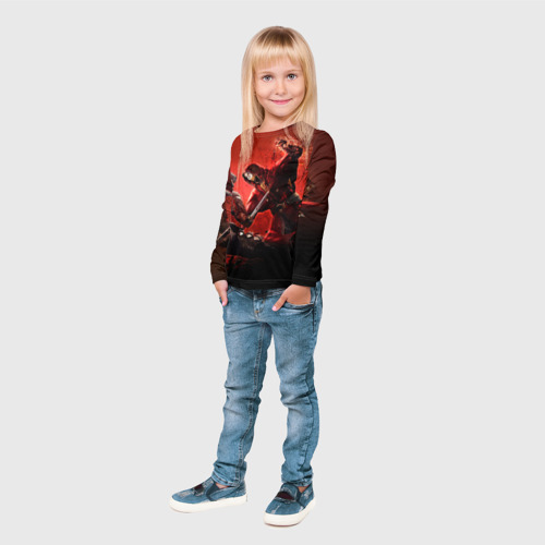 Детский лонгслив 3D  Фото 04, Противостояние