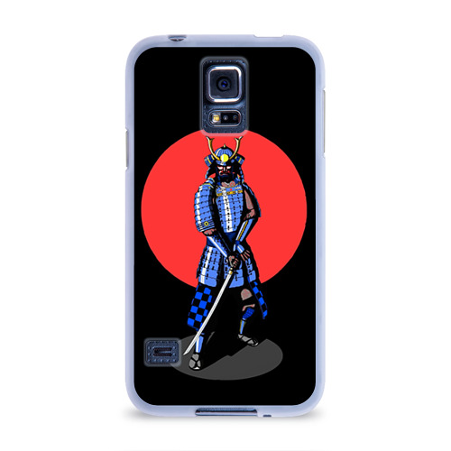 Чехол для Samsung Galaxy S5 силиконовый  Фото 01, Самурай 2