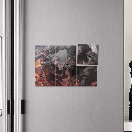 Магнитный плакат 3Х2  Фото 04, The witcher 3