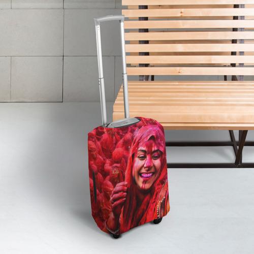 Чехол для чемодана 3D  Фото 03, Фестиваль красок Холи