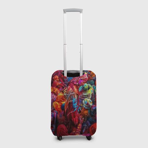Чехол для чемодана 3D  Фото 02, Индуистский фестиваль красок Х