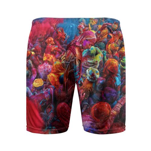 Мужские шорты 3D спортивные  Фото 02, Индуистский фестиваль красок Х