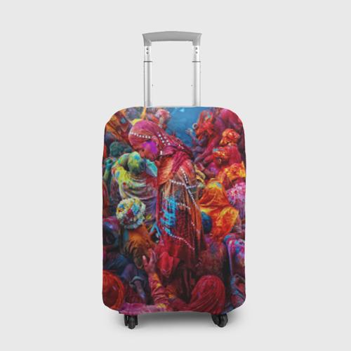 Чехол для чемодана 3D  Фото 01, Индуистский фестиваль красок Х