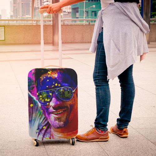 Чехол для чемодана 3D  Фото 04, Индуистский фестиваль красок