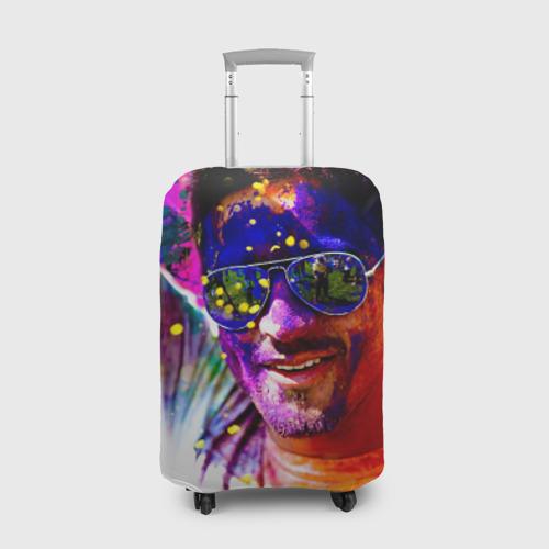 Чехол для чемодана 3D  Фото 01, Индуистский фестиваль красок