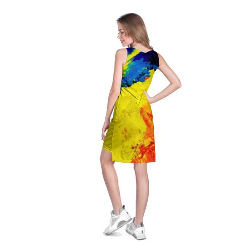 Платье-майка 3D  Фото 04, Индуистский фестиваль красок