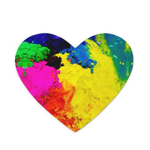 Коврик для мыши сердце  Фото 01, Индуистский фестиваль красок