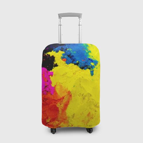 Чехол для чемодана 3D Индуистский фестиваль красок