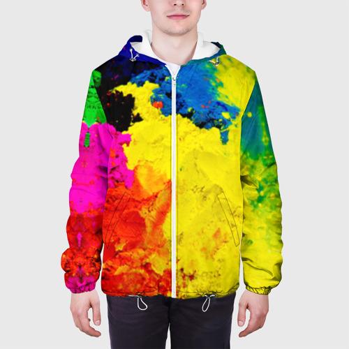 Мужская куртка 3D  Фото 04, Индуистский фестиваль красок