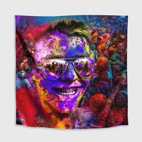 Скатерть 3D  Фото 02, Индуистский фестиваль красок