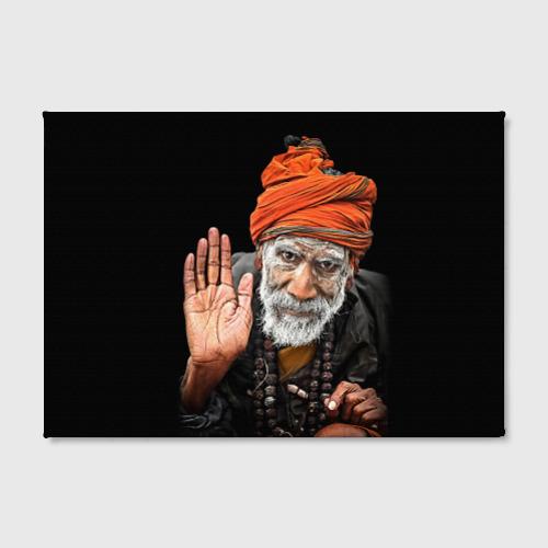 Холст прямоугольный  Фото 02, Индус монах аскет