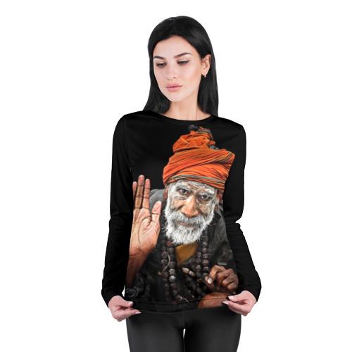 Женский лонгслив 3D для беременных  Фото 04, Индус монах аскет