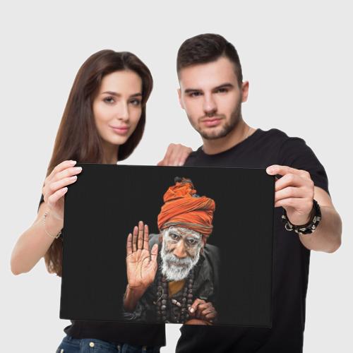 Холст прямоугольный  Фото 05, Индус монах аскет