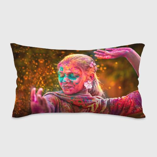Подушка 3D антистресс  Фото 01, Индуистский фестиваль красок