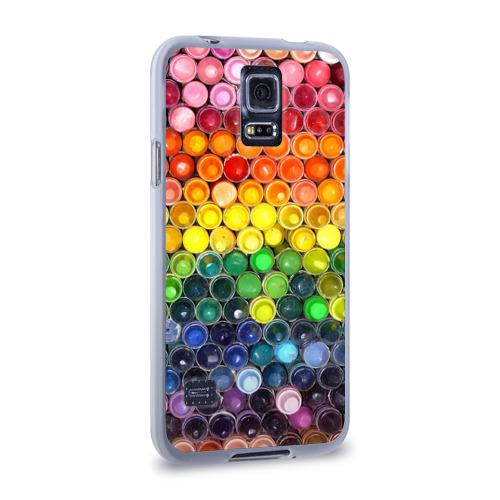 Чехол для Samsung Galaxy S5 силиконовый  Фото 02, Краски