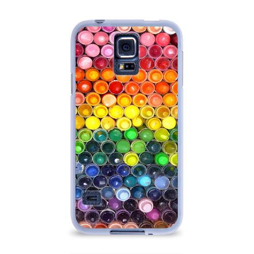 Чехол для Samsung Galaxy S5 силиконовый  Фото 01, Краски