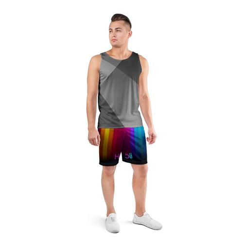 Мужские шорты 3D спортивные  Фото 04, Индуистский фестиваль красок